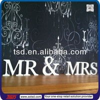TSD-W1216 small wood letters/ cheap wooden letters/ wood table letters
