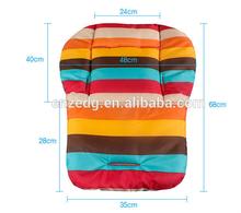 2014 new Waterproof Baby Stroller Cushion Rainbow Baby Car Seat Cushion