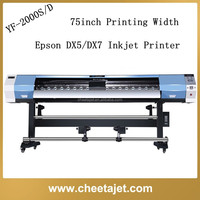 2015 reasonable price new vinyl sticker printing machine for sale