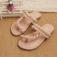 CT02-G04 Wholesale fashion and soft guangzhou girls slippers kids wholesale slippers girls slippers