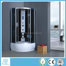 2015 new design bathroom steam corner quadrant sexy portable cheap enclosed shower cabin