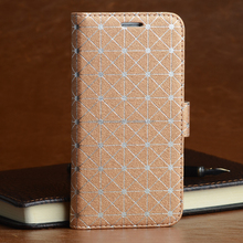 Smartphone accessory new product, leather phone case for Samsung
