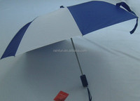 High quality 2-fold automatic open umbrella non-foldable umbrella real windproof umbrella