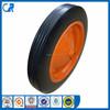Qingdao manufacturer heavy duty wheelbarrow wheels cheap solid wheel 13x3 inch