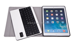 for iPad air smart case ,leather case with bluetooth keyboard for iPad air