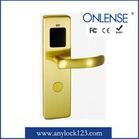 digital card hotel door lock manufacturer with one year warranty all life maintenance