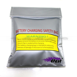 Efest battery charge pack for charging and storage of batteries car charging sack pack lipo guard bag