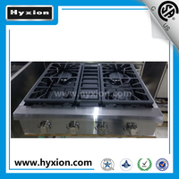 Hyxion 30inch stainless steel 4 burner gas cooktops