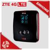 Portable Original ZTE Wireless 4G LTE / 3G WiFi Router with SIM Card Slot 1700mAh Power Bank