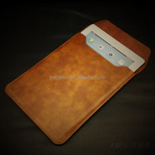 high quality real leather cover for macbook, ipad, factory wholesale leather case
