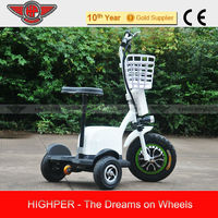 500w 48v 20Ah 3 wheel electric scooter similar as roadpet ginger mypet zappy