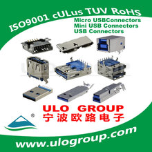 Updated Exported Mini Usb 4p Femal Smt Connector Manufacturer & Supplier - ULO Group