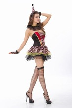 zombie de payaso de circo l15106 de vestuario