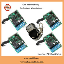 universal mental wireless remote control for security systems (ZY1-4)