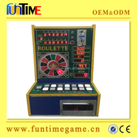 Upgraded Jackpot Mini coin operated roulette machine bergmann / game machines for bar