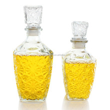 Airtight Glass Wine Bottle