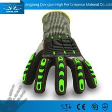 HPPE gloves abrasion resistant safety gloves shock proof gloves