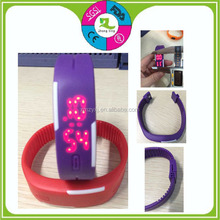new style fashion sport watches silicone digital watch touch screen LED wrist watch