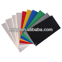 color 4x8 rigid pvc foam board 3mm with high density