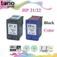 Refill Ink Cartridge for HP 21/22 (BK/C)