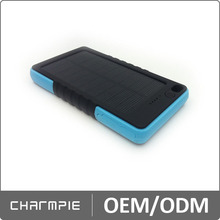 alibaba china supplier private mode 5000mah portable cell phone solar charger