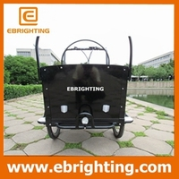 cargo delivery bike tricycle three wheel cargo bike for touring
