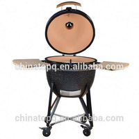 TOPQ Ourdoor Garden Fire Pit with Pizza Stone