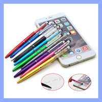 Colorful Stylus Pen with Crystal Touch Screen Pen for iPad Tablet phone
