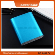 2015 new External Battery Pack xiaomi power bank 10400mAh xiaomi 10400 portable powerbank Charger KD-086