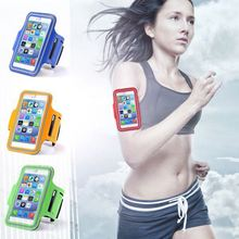 Waterproof Sports Running Arm Band Leather Case For iphone 6 4.7 inch Mobile Phone Holder Pouch Belt GYM Cover For iPhone 6 Plus