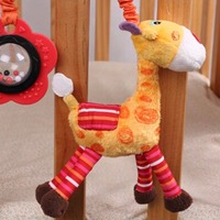 Activity Spiral and Stroller Toy of Owl