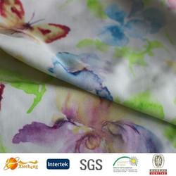 flower printing fabric quick dry lycra fabric swim short fabric