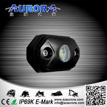 High power IP68 waterproof multi-color rock light reverse light led light for off road