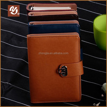 Exquisite A5 leather notebook cover executive
