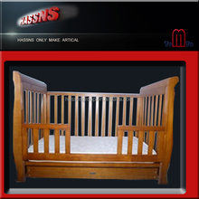 2014 new version solid wood adult baby crib