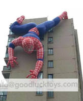 Giant Advertising Inflatable Spiderman Cartoon/ Cheap Inflatable Spiderman Model