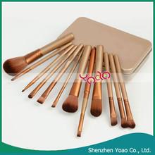Top Grade Professional 12Pcs Cosmetic Brush Set Brushes Make Up