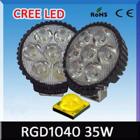 Wholesale Auto parts LED light ip67 12v 36w high brightness lamp off road led driving light