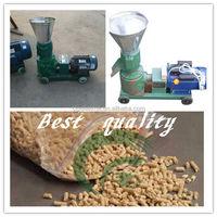 Flat die sawdust pelletizer / sawdust pellet machine granulator