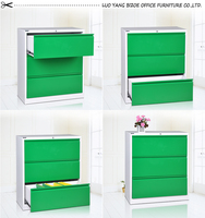 Factory customize hight density cabinet/lateral filing three drawers