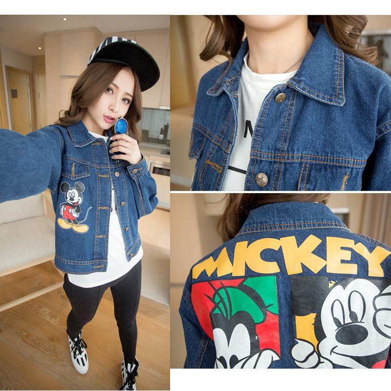 Denim Jacket Mickey Mouse