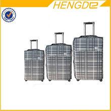 Design hot selling beautiful pc wheeled luggage factory