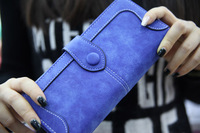 2015 new women wallet high quality brand Matte-leather wallet