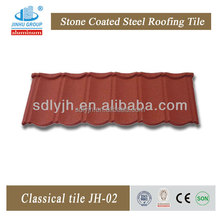 Roof tiles in kerala price colorful stone coated metal roof tile