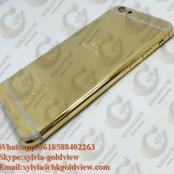 24kt for iphone 4 5 6 6plus gold 24kt back housing cover, for iphone gold 24kt,24kt for iphone 24kt,for iphone 6 housing