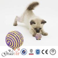 [Grace Pet] Pet Natural Sisal Rolls and Balls Cat Toy