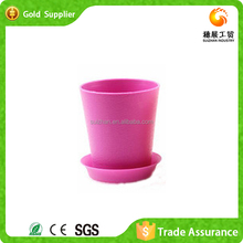 Attractive Factory Supply Cheap Color Plastic Flower Pot Trays