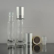 new design oil bottle clear glass essential oil roller ball bottles empty hot sale