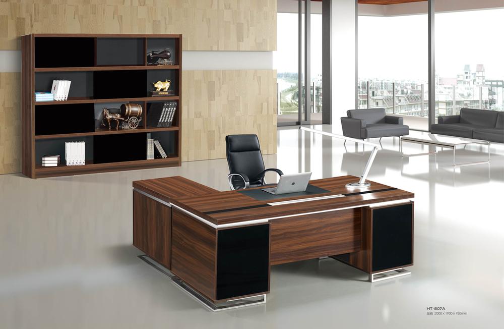 2015 modern ht 507a tall wooden manager office desk buy tall office desk modern manager desk - Tall office desk ...