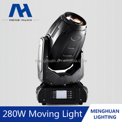 Best quality China CE,RoHS certificate 280W 10R sharpy beam moving head light